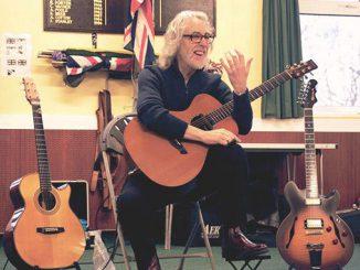 Gordon Giltrap demonstrates successful guitar practice